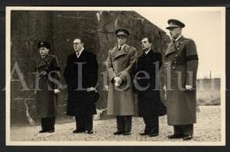 Photo Postcard / ROYALTY / Belgium / Belgique / Roi Baudouin / Koning Boudewijn / Fort Van Breendonk / 1951 - Willebroek