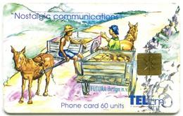 St. Maarten - Tel-Em SX-TEM-0011A - Nostalgic Communications - Meeting On The Road (Chip GEM1A Black) - Antilles (Netherlands)