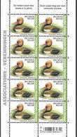 Belg. 2018 - La Nette Rousse ** (timbre Pour Association) - Krooneend (verenigingen) - Planche N° 2 - Belgium