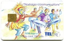 St. Maarten - Tel-Em SX-TEM-0012B - Nostalgic Communications - Celebration Carnival (Chip GEM1B White) - Antilles (Netherlands)