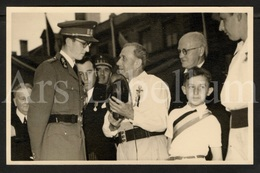 Photo Postcard / ROYALTY / Belgium / Belgique / Roi Baudouin / Koning Boudewijn / Sablon / 1951 - Marktpleinen, Pleinen