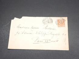 NOUVELLE CALÉDONIE - Enveloppe De Nouméa Pour Paris En 1926 - L 18799 - Briefe U. Dokumente