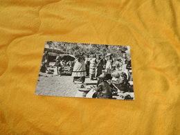 CARTE POSTALE ANCIENNE CIRCULEE DE 1953. / OUAGADOUGOU.- VUE DU MARCHE. / CACHETS + TIMBRE - Burkina Faso