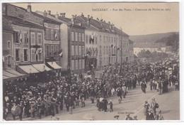 Meurthe-et-Moselle - Baccarat - Rue Des Ponts - Concours De Pêche En 1905 - Baccarat
