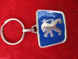 Automobile/PEUGEOTT/SNGO/ EVREUX/Bronze Chromé  Brillant Et émaillé / Vers 1990        POC276 - Porte-clefs