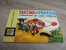 Dupuis Collection Carrousel 40 Tartine Et Parasol L'escapade Du Loup Romulus Lange Et Jamic - Livres, BD, Revues