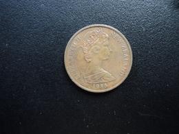 NOUVELLE ZÉLANDE : 2 CENTS  1985   KM 32.2    SUP - Nouvelle-Zélande