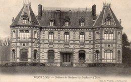 CPA BONNELLES - CHATEAU DE MADAME LA DUCHESSE D'UZES - France