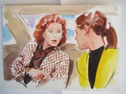 Acquarello Con Sophia Loren - Watercolours