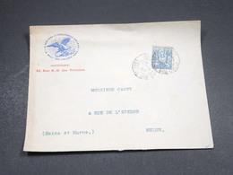 FRANCE - Enveloppe Commerciale De Paris Pour Melun En 1899 - L 18806 - Marcophilie (Lettres)