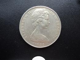 NOUVELLE ZÉLANDE : 50 CENTS  1978   KM 37.1    SUP - Nouvelle-Zélande