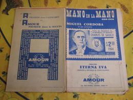 Partition - Mano En La Mano - Eterna Eva (visite De De Gaulle Mexique) - Other