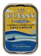 Puxisardinophilie - Boite à Sardines (vide) Les Royans Sauce Ravigote  - La Belle-iloise - Autres Collections
