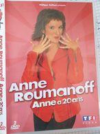 ANNE ROUMANOFF °°° ANNE A 20 ANS  ( 2 DVD ) - Concert Et Musique