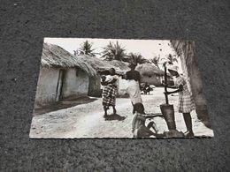 POSTCARD ANGOLA ALDEIA VILLAGE NATIVA UNUSED - Angola