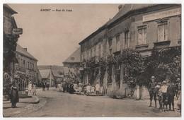 CPA 71 ANOST Hôtel Du Commerce Rue De Joux - Francia