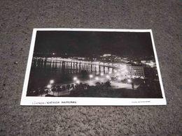 VINTAGE PHOTO POSTCARD ANGOLA LUANDA AVENIDA MARGINAL AT NIGHT FOTO SPORT EDITION UNUSED - Angola