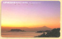 JAPAN  Telefonkarte -Sonnenaufgang  -  Siehe Scan - - Japan