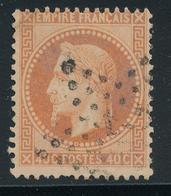 N°31 NUANCE OBLITERATION - 1863-1870 Napoleon III With Laurels