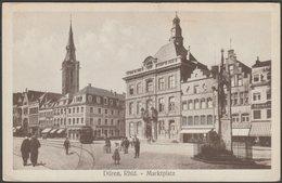 Marktplatz, Düren, Rheinland, C.1910s - Peters AK - Dueren