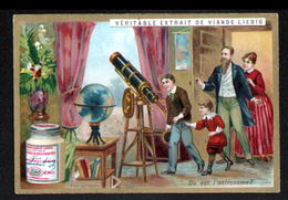 CHROMO LIEBIG , S 382, Enigmes, 15ème Série, Ou Est L'astronome - Liebig