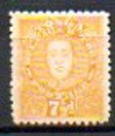 OCEANIE - TONGA - (Protetorat Britannique) - 1895 - N° 32 - 7 1/2 P. Ocre - (Roi Georges II) - Samoa