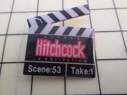Pin313f Pin's Pins / Beau Et Rare : Thème CINEMA / CLAP DE CINEMA HITCHCOCK - Films
