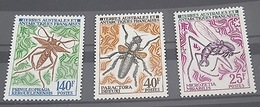 TAAF, TERRES AUSTRALES Insectes, Insecte, Insect, Insects, Insectos, Insekt Yvert N°43/5 ** MNH - Autres