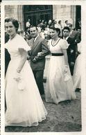 03 MONTLUCON  MARIAGE Sortie De Mairie - Anonymous Persons