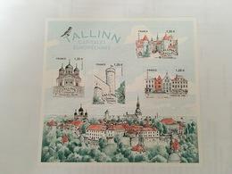 (2018) - Capitales Européennes: Tallinn - Blocs & Feuillets