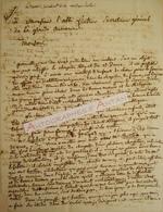 Superbe L.A.S 1817 Jean-François LE SUEUR Compositeur Né à Drucat En 1760 - Lesueur - Composer - Lettre Autographe - Autogramme & Autographen