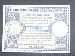 PALESTINE - Coupon Réponse De Tel Aviv En 1946 - L 18827 - Palestine