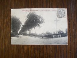 Carte Postale Ancienne De Frontenay-Rohan-Rohan: Route De La Rochelle Et Du Calvaire - Frontenay-Rohan-Rohan