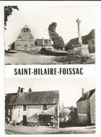 SAINT - HILAIRE - FOISSAC (19) Place De L'Eglise , Sortie Du Bourg - Autres Communes