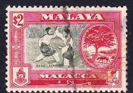 Malaysia-Penang SG 64 1960 Definitives, $ 2.00 Bronze-green And Scarlete, Used - Penang