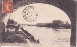 CPA - 156. AGEN Les Trois Ponts Sur La Garonne - Agen