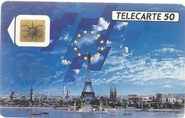 F 103 . DIMENSION EUROPEENNE . 50U . SO2  . COTE = 5 € - France