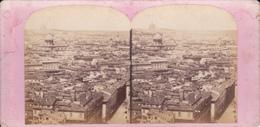 VUE STEREO. 18-038  : ITALIE. ITALIA. ROME. ROMA. VUE PRISE DU CAPITOLE. - Photos Stéréoscopiques