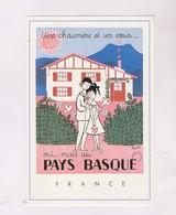 CPM PEYNET, AU PAYS BASQUE - Peynet