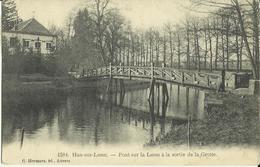 Han - Sur - Lesse -- Pont Sur La Lesse à La Sortie De La Grotte.    (2 Scans) - Rochefort