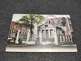 ANTIQUE POSTCARD CUBA HABANA EL TEMPLETE COLUMBUS MEMORIAL CHAPEL CIRCULATED 1910 - Postcards