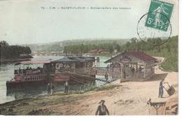 92  SAINT CLOUD  Embarcadère Des Bateaux - Saint Cloud