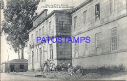94550 SPAIN ESPAÑA PUENTEAREAS PONTEVEDRA GRUPO ESCOLAR POSTAL POSTCARD - Sin Clasificación
