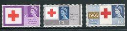 GREAT BRITAIN Scott: # 398-400(**)  Mnh  Complete Set - 1952-.... (Elizabeth II)