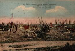 KEMMEL  GRAND PLACE ET MAISON COMMUNALE - Heuvelland