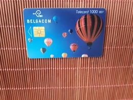 Phonecard Airballon MI 28.02.2003 Belgium Low Issue Used  Rare - Belgium