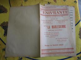 Partition - Enivrante - La Marlesienne - Maison Emery - Mouchais Gervais - Other