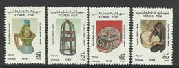 YEMEN DU SUD - 1988 - N° 335/338 **  Artisanat - Yemen