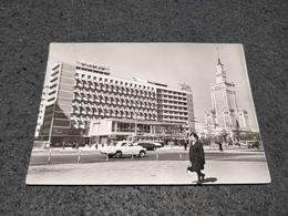 ANTIQUE POSTCARD POLAND WARSZAWA HOTEL METROPOL - Pologne
