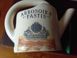Caraffe En Grès Crème  HENRI BARDOUIN Arrosoir - Carafes